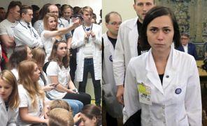 """TVP Info o proteście lekarzy: """"JEDZĄ KANAPKI Z KAWIOREM, gustują w drogich trunkach"""""""