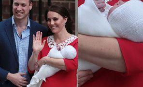 Księżna Kate POKAZAŁA DZIECKO przed szpitalem! (ZDJĘCIA)