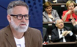 """Saramonowicz uderza w PiS: """"Kaczyński i pomagierzy, którzy są podnóżkami. SUŁTAN MÓWI, CO JEST DOBRE!"""""""