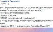 """Pawłowicz: """"KTO PŁACI za jednakowe czarne KOSZULKI strajkujących młodych lekarzy?"""""""