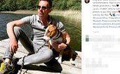 Krzysztof Ibisz zabrał psa w sentymentalną podróż