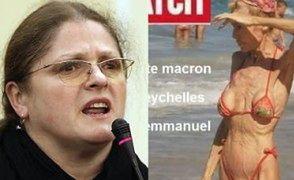 """Krystyna Pawłowicz ZNOWU wyśmiewa Brigitte Macron: """"Jestem starsza o 2 lata, ale nadal """"liceum"""""""""""