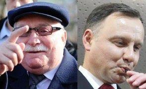 """Wałęsa dokucza Dudzie: """"Chciałby istnieć w USA, a tam go NIKT NIE ZNA"""""""