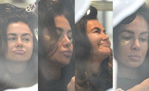 Obfite usta Natalii Siwiec wiercą się na fotelu fryzjerskim (ZDJĘCIA)