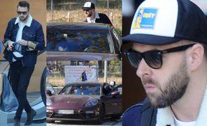 Hyży umacnia wizerunek macho w Porsche za 800 TYSIĘCY ZŁOTYCH (ZDJĘCIA)