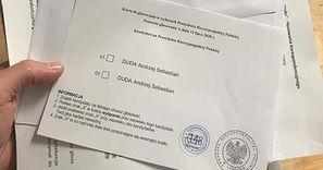 Skandal na karcie do głosowania? Tylko jeden kandydat. Stanowcza reakcja MSZ