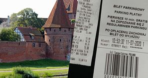 Paragon za parking w Malborku. Czytelnik nie wytrzymał. Odbiera chęć zwiedzania
