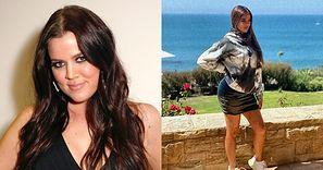 """Kolejna nowa twarz Khloe Kardashian reklamuje bluzy Scotta Disicka: """"Wyglądam na tym zdjęciu TAK MŁODO"""""""