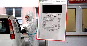 Test na koronawirusa za 869 zł. Pokazał paragon i pyta o badania ministrów