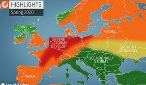 Ciepło, burzowo, możliwe tornada. Amerykańscy meteorolodzy przewidują pogodę na wiosnę