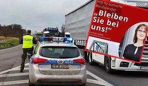 """Polska zamyka granicę, Niemcy apelują do Polaków. """"Zostańcie po naszej stronie"""""""