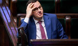 """Morawiecki w Senacie. """"Mamy 50 mld zł na bieżące potrzeby"""""""