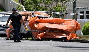 Australia. Były sportowiec podpalił samochód, w którym siedziała jego rodzina