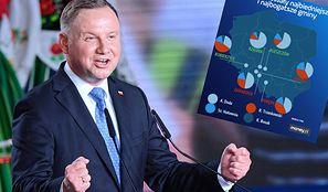 Wyniki wyborów 2020. W dwóch najbogatszych gminach Andrzej Duda miażdży konkurentów