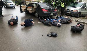 Ukraina. Strzelanina pod Kijowem. Wzięło w niej udział 100 osób