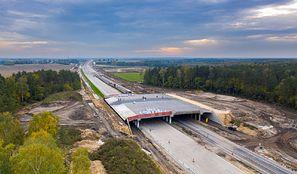 Budowa A1. Pierwsi kierowcy pojechali nową trasą