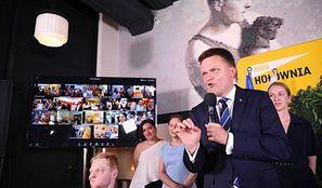 Wybory prezydenckie 2020. Szymon Hołownia komentuje swój wynik