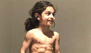 6-letni chłopiec gwiazdą internetu. Ponadprzeciętne muskuły