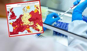 """Koronawirus. Niemcy chwalą się mapą. Dopisują """"dziękujemy, Angela"""""""