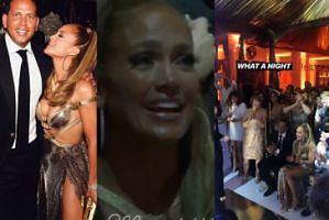 """Jennifer Lopez i jej 50. urodziny: Porsche za pół miliona, złoty tort, występ dzieci. """"To było jak sen"""" (ZDJĘCIA)"""