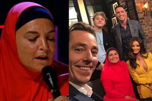 """Sinead O'Connor przyszła w hidżabie do """"Late Late Show"""". """"Byłam muzułmanką od zawsze, tylko nie zdawałam sobie z tego sprawy"""" (WIDEO)"""