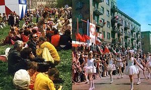 1 maja w czasach PRL-u