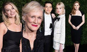 Gwiazdy na kolacji marki Chanel przed rozdaniem nagród BAFTA 2019