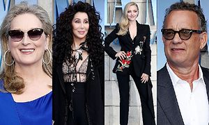 Meryl Streep, Cher, Amanda Seyfried i Tom Hanks