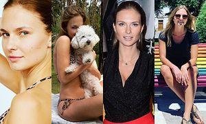 Kim jest o 19 lat młodsza żona Piotra Adamczyka? Poznajcie piękną Karolinę Szymczak