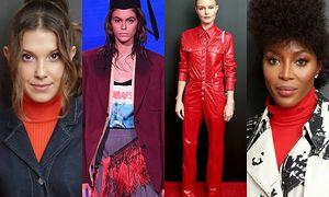 Millie Bobby Brown, Kaia Gerber, Kate Bosworth i Naomi Campbell
