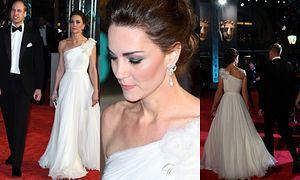 Księżna Kate i książę William na gali BAFTA