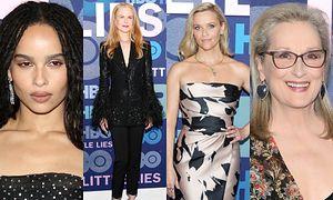 Zoe Kravitz, Nicole Kidman, Reese Witherspoon i Meryl Streep