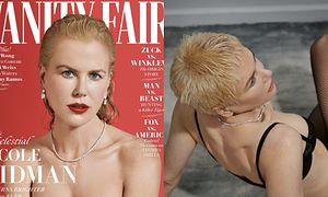 """Odważna Nicole Kidman eksperymentuje z wizerunkiem na okładce """"Vanity Fair"""""""