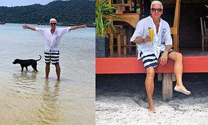 Pan Lotto odpoczywa w Kambodży