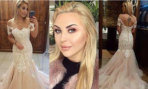 """Julia z """"Projektu Lady"""" pokazała zdjęcia w odważnej sukni ślubnej (FOTO)"""