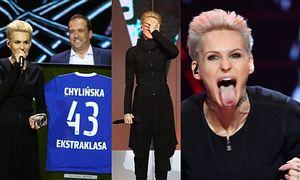 Agnieszka Chylińska świętuje 43. urodziny na scenie w Sopocie (ZDJĘCIA)