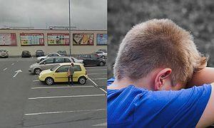 9-latek z 2 PROMILAMI alkoholu prawie zmarł na parkingu w Oświęcimiu! Pomogli mu przechodnie...