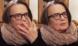"""Agnieszka Holland: """"Kiedy kobieta przestaje być atrakcyjna robi się przezroczysta"""""""