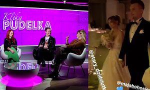 """Sylwestrowy ślub Bohosiewicz: """"Dobrze, że chociaż raz wykorzystała media społecznościowe w dobry sposób"""" (KLIKA PUDELKA)"""