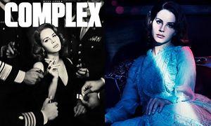 Lana Del Rey w sesji retro
