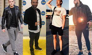 Najmodniejsze czarne buty sportowe w stylizacjach celebrytów