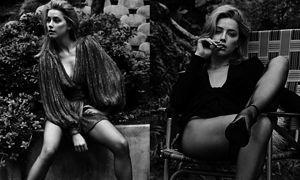 "Kusząca Amber Heard przybiera seksowne pozy w sesji dla ""Harper's Bazaar"""