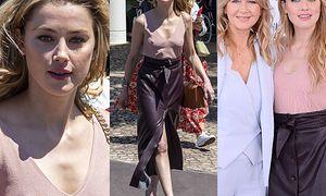 Cannes 2019: Amber Heard uwalnia piersi w drodze na wywiad