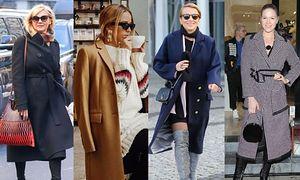 Stylowe płaszcze zimowe - jak noszą je gwiazdy?