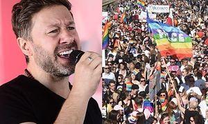 """Piasek tłumaczy się z krytyki środowisk LGBT: """"Jakoś mało widzę na ulicy ludzi, którzy wychodzą i krzyczą """"JESTEM HETERO!"""""""