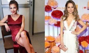 Piękne satynowe sukienki – z czym noszą je celebrytki?
