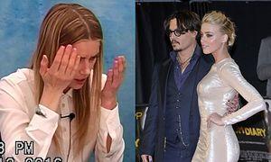 """Ujawniono nagranie z przesłuchania Amber Heard: """"Wyrywał mi włosy i rzucił telefonem w twarz!"""" (FOTO)"""