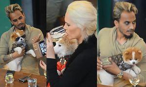 """Iwona Burnat z """"Żon Hollywood"""" spędza popołudnie z ukochanym, pieskami i grubym plikiem banknotów w garści (WIDEO)"""