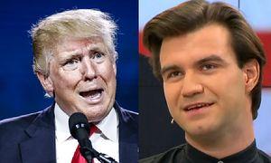 """Rafał Masny z """"Abstrachujów"""": """"Protesty przeciwko Donaldowi Trumpowi są bezzasadne"""""""