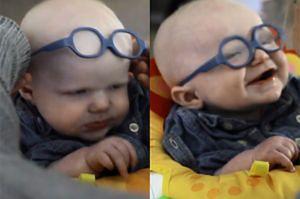 Chłopiec albinos po raz pierwszy zobaczył mamę!
